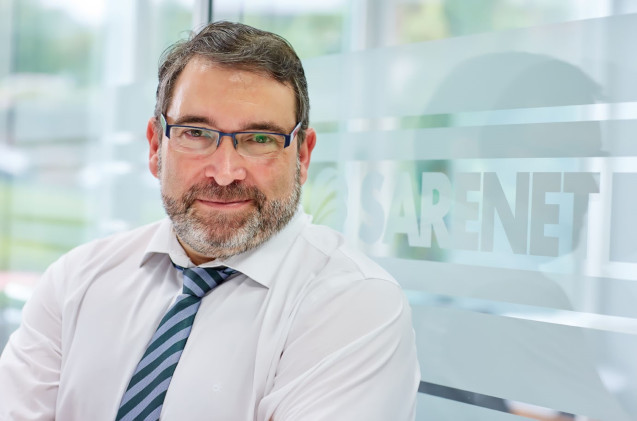 Aitor Jerez, director comercial de Sarenet