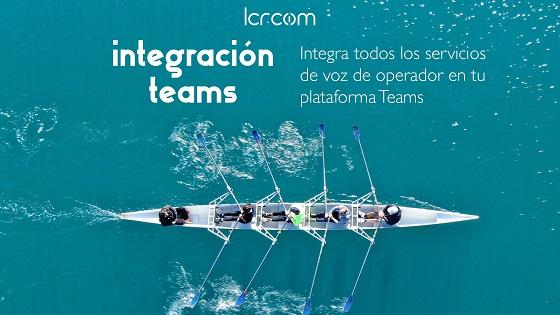 LCRcom ofrece VoIP a través de Teams.