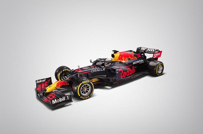 Vehículo de Fórmula 1 de Red Bull Racing Honda.
