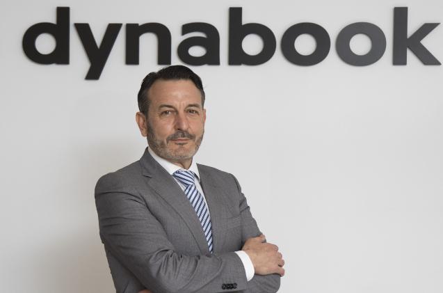 Eduardo Martínez, director de canal de Dynabook España.