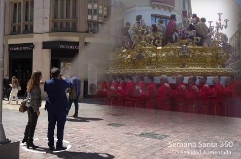 Turismo y 5G: Semana Santa de Málaga.