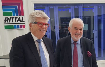 Prof. Friedhelm Loh (izq.) y Jürgen Stulz: Rittal y Stulz colaborarán en todo el mundo en el sector de las soluciones de infraestructuras de CPD