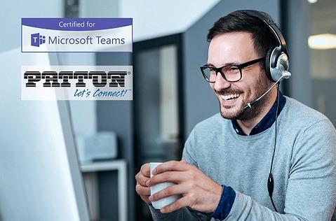 SBC de Patton, certificados para enrutamiento directo de Microsoft Teams.