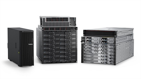 nueva generación Lenovo ThinkSystem
