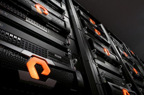 Equipos de almacenamiento de Pure Storage.