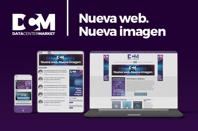 imagen corporativa de la nueva web de DCM